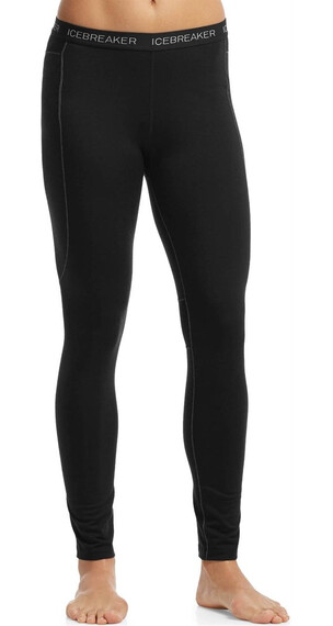 Icebreaker W's Zone Leggings Black/Mineral/Black